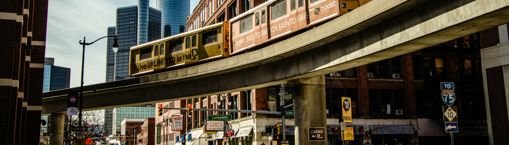 Detroit and People Mover